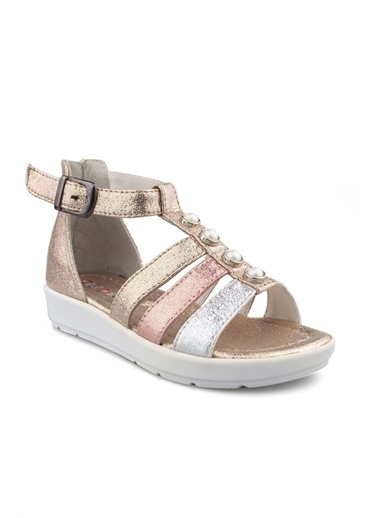 Cicibebe Sim Kız Çocuk Sandalet Bronz